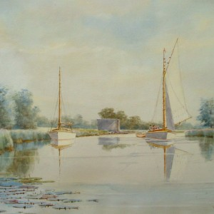 The Thurne near Repps Staithe