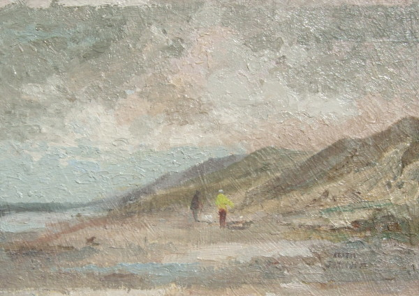 X (SOLD) Morning Walk, Sea Palling