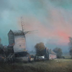 X (SOLD) The Evening Hour, Wingfield Mill