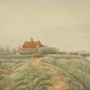 Mill and Cottage (Rounding the Bend)