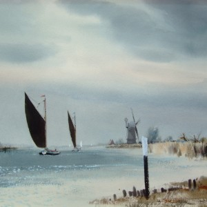 X (SOLD) Berney Arms, Breydon