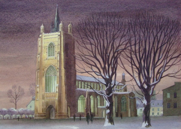 St Peter Mancroft (Winter)