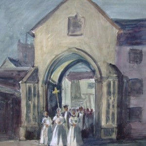 Erpingham Gate, Cathedral Choir