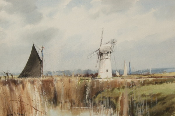 X (SOLD) Thurne Mill (Black Sail)