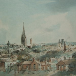 Norwich from the East