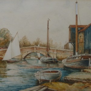 X (SOLD) Wroxham Bridge