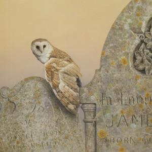 X (SOLD) Twilight (Barn Owl)