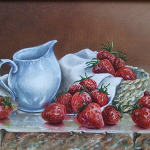 Fruit: Strawberries and Cream