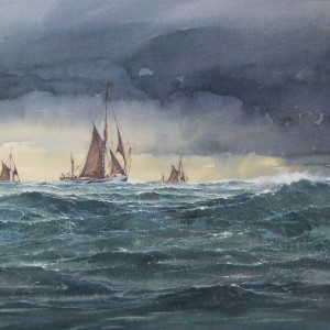 Trawlers in Heavy Seas