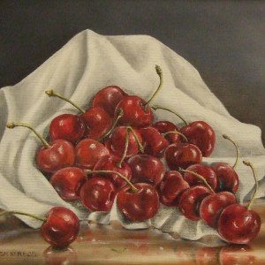 Fruit: Cherries and Cloth