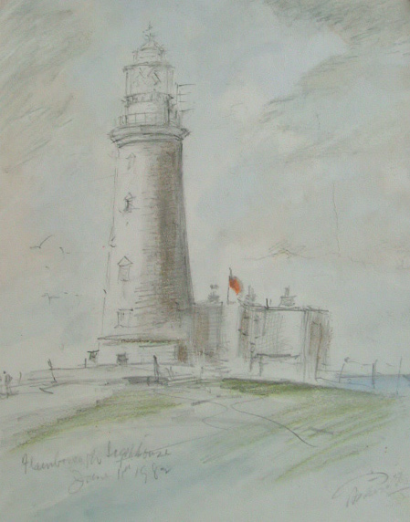X (SOLD) Flamborough Lighthouse