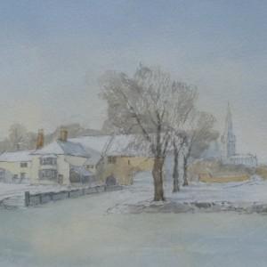 X (SOLD) Pulls Ferry (Winter)