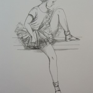 Little Ballerinas: Resting II