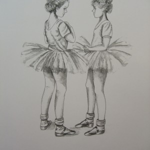Little Ballerinas: Tête à Tête I