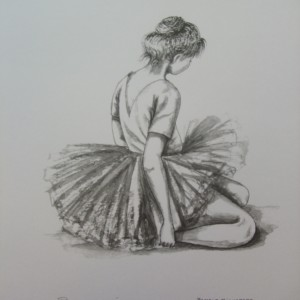 Little Ballerinas: Quiet Moment