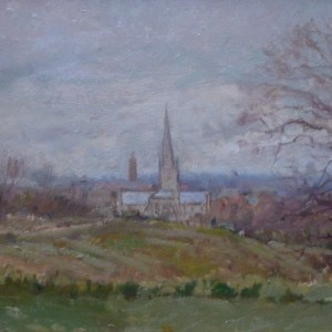 X (SOLD) Norwich from Mousehold