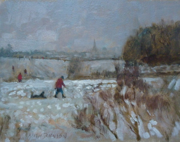 Sledging at Mousehold