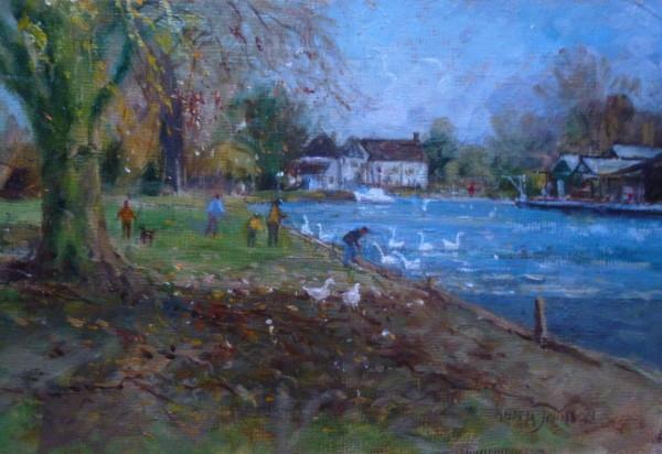 Autumn days, Thorpe Green