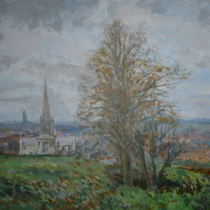 X (SOLD) A March day, Mousehold