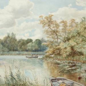 X3 (SOLD) A Corner of Flixton Water, Norfolk