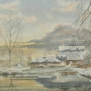 X (SOLD) Winter Reflections (1975)