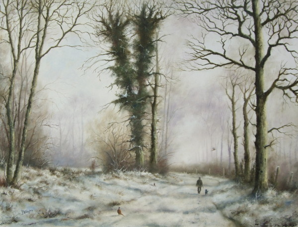 X18 (SOLD) Winter Walk
