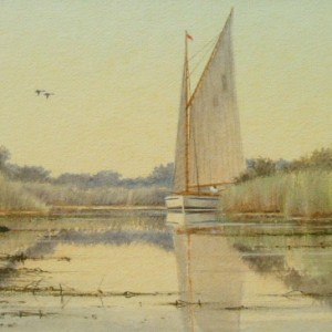 X07 (SOLD) A Quiet Sail