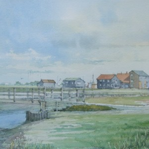 X (SOLD) Crabbing Bridge, Walberswick