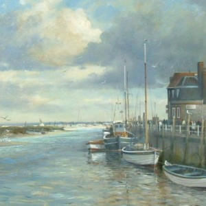 X04 (SOLD) Blakeney Quay