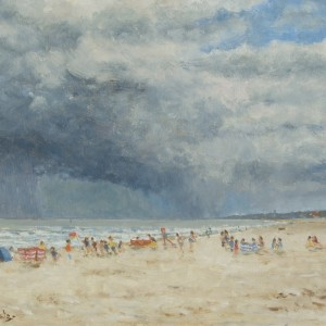 X (SOLD) Approaching Storm, Gorleston Beach