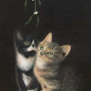 X22 (SOLD) Christmas Kittens