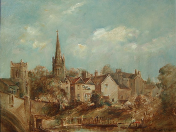 X06 (SOLD) Norwich Cathedral from Fishergate