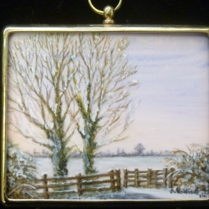 X (SOLD) Miniature – Frosty Morning