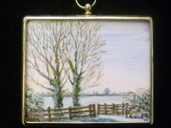Miniature – Frosty Morning