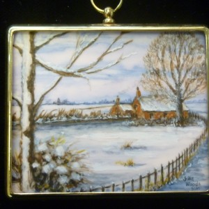 X (SOLD) Miniature – The Homestead