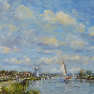 Sailing on the Thurne