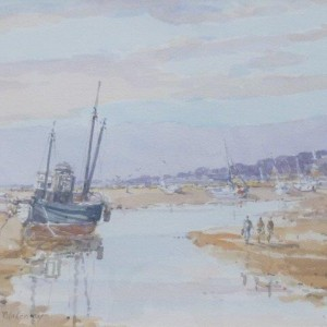 X (NOT FOR SALE in John Sutton's private collection) Blakeney from the Creek