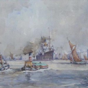 X (NOT FOR SALE in the John Sutton's private collection) Pool of London