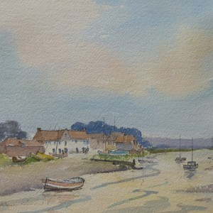 Summer Evening, Overy Staithe