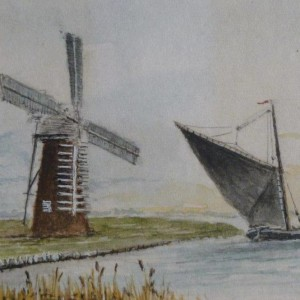 X (SOLD) Wherry and Mill dated 1974