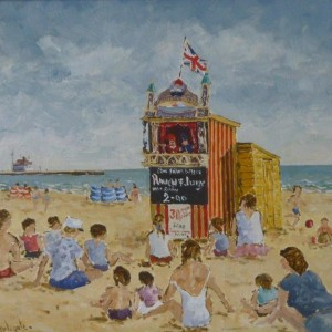 X (SOLD) Punch & Judy, Gorleston Beach