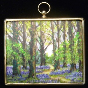 X(SOLD) Miniature – Bluebellwood