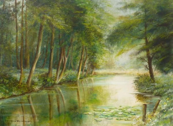 "Scenes – Reflections ""2"" Lake at East Bilney, Norfolk"