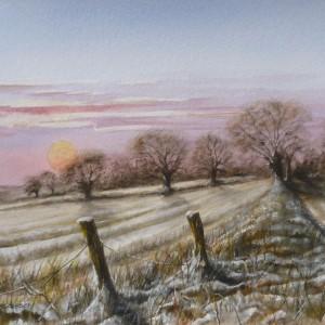 Scenes – Winter Sun, Postwick, Norfolk