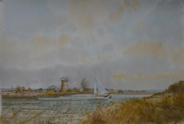 (unframed) Norfolk Breezes, Upton, Norfolk