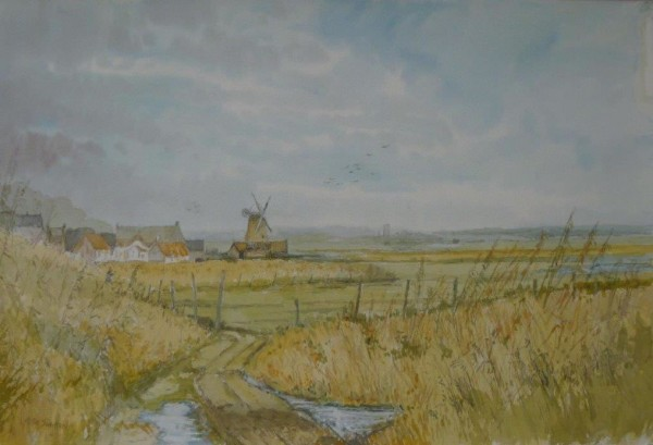(unframed) Cley Marshes, Norfolk
