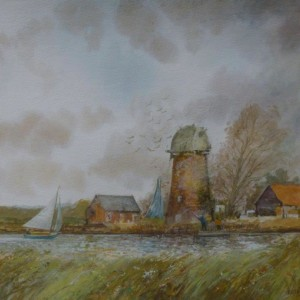 (unframed) Spring Time, Clippesby, Norfolk