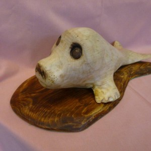 X (SOLD) Seal Pup (no 2)  (Sycamore and Pine)