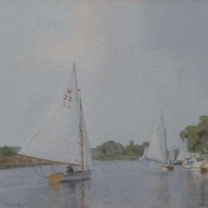 X (SOLD) Returning to the Club house (Beccles)