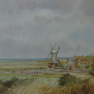 A Windy Day, Cley